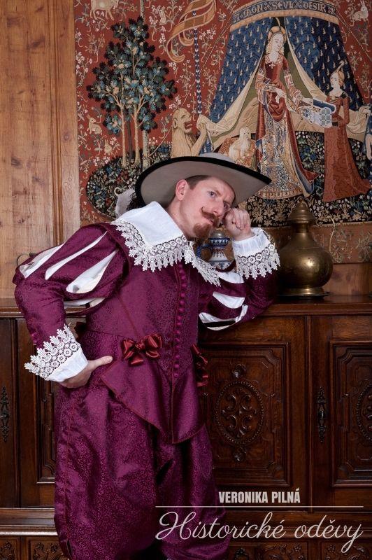 17. century, brocade suit for nobleman