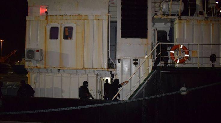 Το σχέδιο ήταν να σταματήσει έξω από τα Σφακιά αλλά... Καρέ – καρέ ρεσάλτο κομάντος σε πλοίο στην Κρήτη – Λεπτό προς λεπτό η επιχείρηση – Δείτε φωτογραφίες και βίντεο