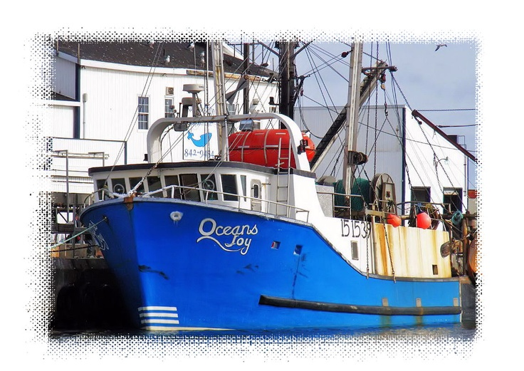 Fishing Boat_Oceans Joy_Sits Ready to go at Glace Bay_Cape Breton_Nova Scotia http://CaperPhotos.Com