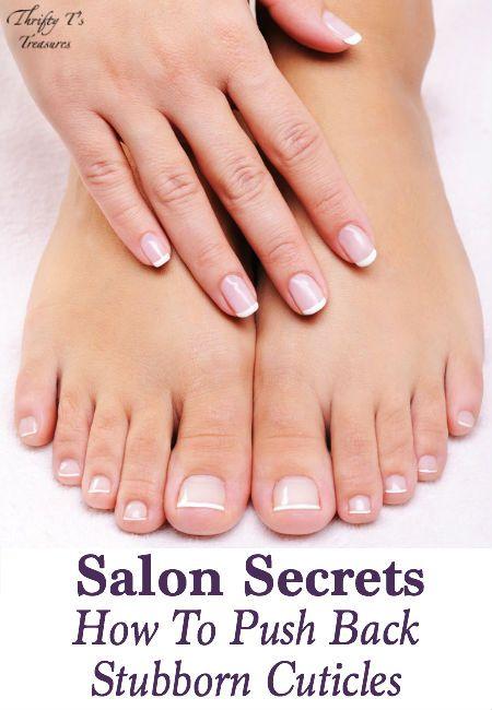 Salon Secrets: How To Push Back Stubborn Cuticles