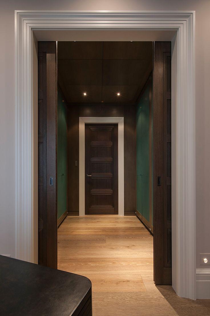 Minimalist contemporary hall