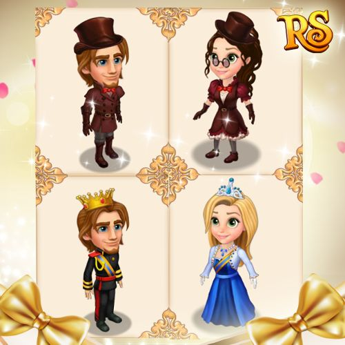 Oh la la! Check the latest royal trends and be the most fashionable prince or princess in the world!  #royalstorygame #royalwardrobe