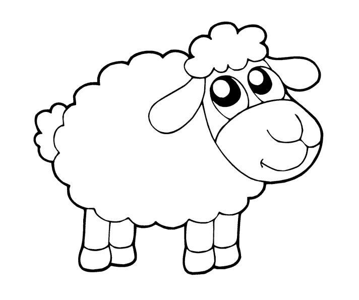 Koyun Keci Boyama Sayfasi Sheep Coloring Pages Free
