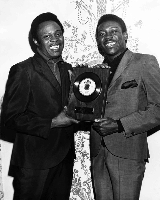 Stax artists Sam Moore and Dave Prater