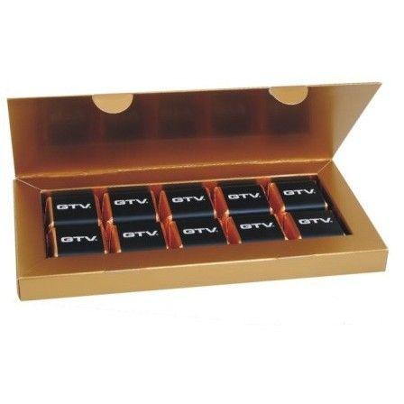 Elegante scatola regalo 10 Sultani personalizzata