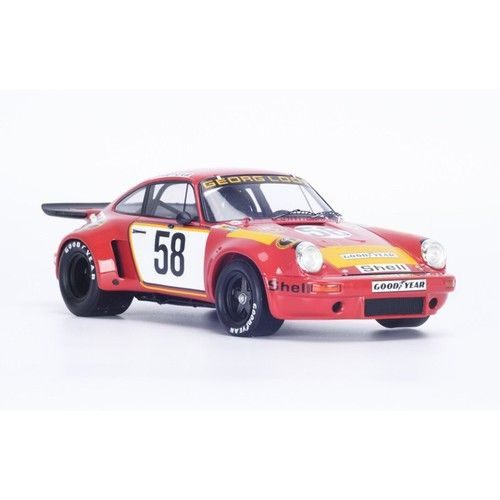 Porsche 911 RSR #58 1975 Lemans 5th 1/18 Model Car Spark 18S165 spark models highly detailed accurate scaled large model at a great price click on image for more details #sparkmodels