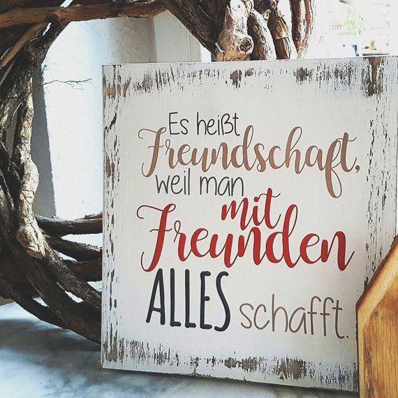 Wooden Shield-It's called Friendship