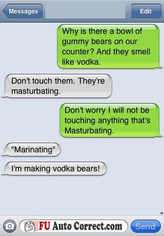 those dang masturbating gummy bears...: