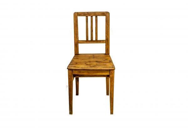 Körtefa paraszt szék, felújított
