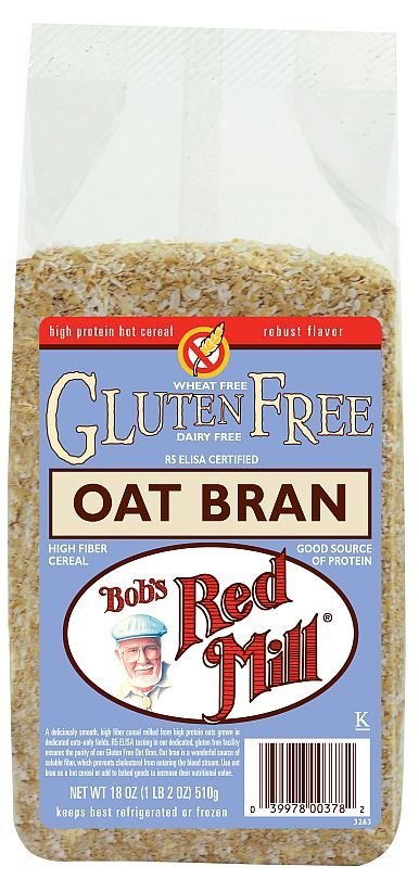 It is good to know that the Dukan Diet approves of Bob's Red Mill Oat Bran! VERY good to know!