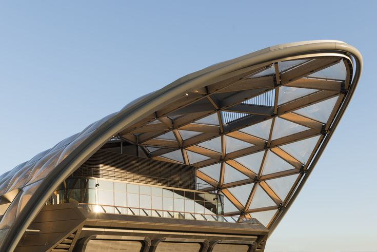 'Canary Wharf Crossrail', London- Foster + Partners, Wiehag, Canary Wharf Contractors, Clemens Huber, ARUP, Gillespies