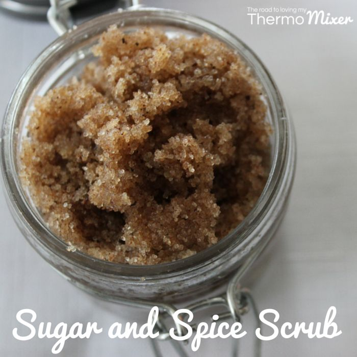 Sugar and spice scrub