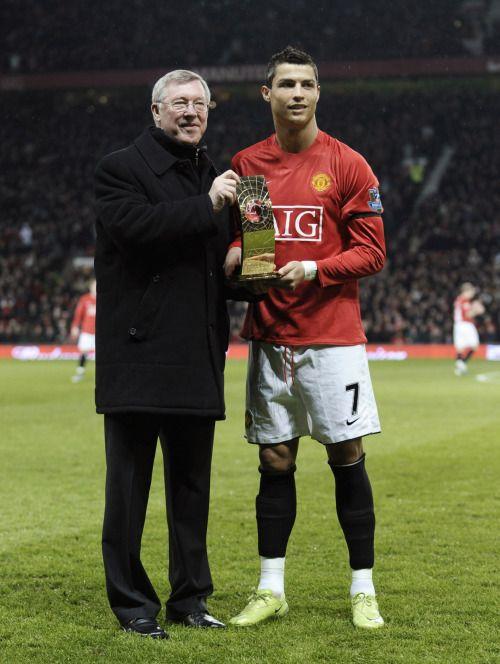 Cristiano Ronaldo & Sir Alex Ferguson