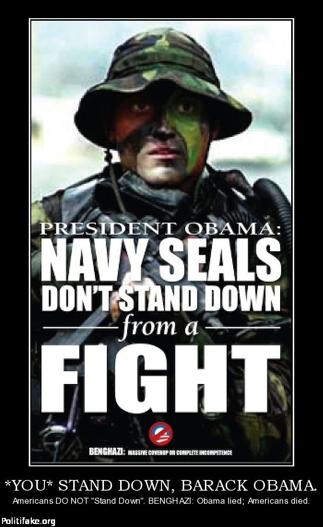FIGHT FOR TYRONE WOODS! FIGHT FOR GLEN DOHERTY!  DO NOT 'STAND DOWN' UNTIL OBAMA ANSWERS FOR BENGHAZI!