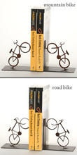 Bikes at work: Gifts Ideas, Bookends Decor, Mountain Bike, Apartment Ideas, Bicycles Bookends, Bike Bookends, Homes