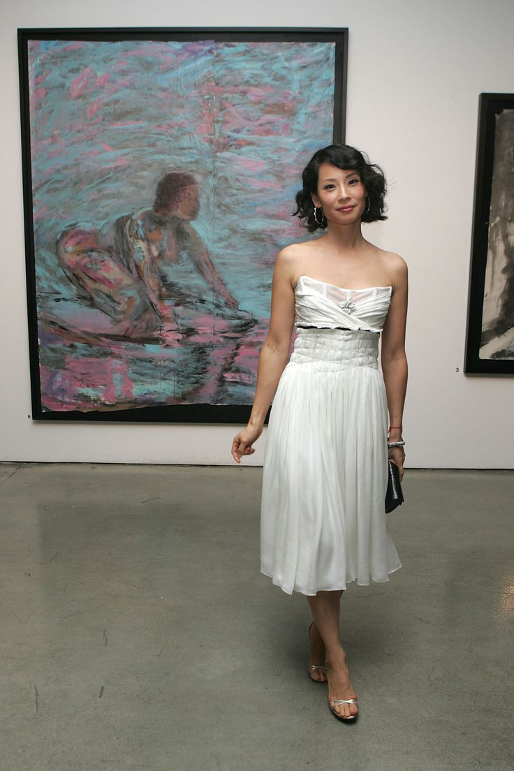 Lucy LiuElementary actress Lucy Liu may be best known for her lengthy and successful film and TV career, but she's also a highly skilled abstract artist, having exhibited her own work publicly since 1993. She exhibited her work under her Chinese name,Liu Yu-ling, until 2011to prevent people from making biased judgments about her work.Her 2011 exhibit,Seventy Two,was replicated in abook—and the actress donated portions of the proceeds to charity.