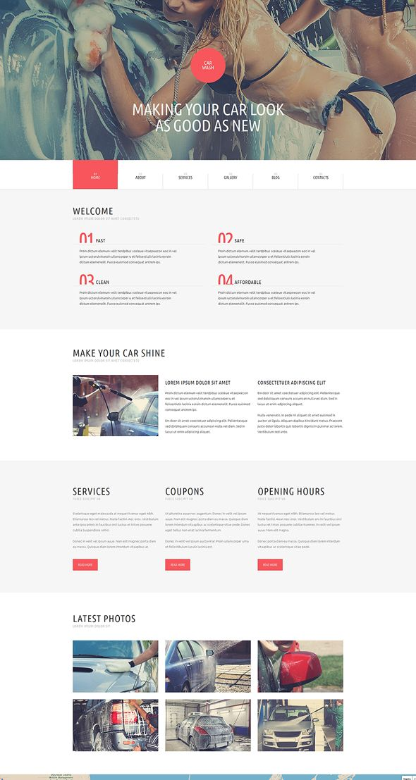 best premium Automotive Car WordPress Themes useful for car dealership websites and business.