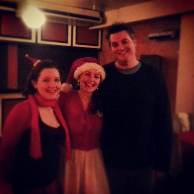 Christmas Party 2013 (with Laura Hicks).