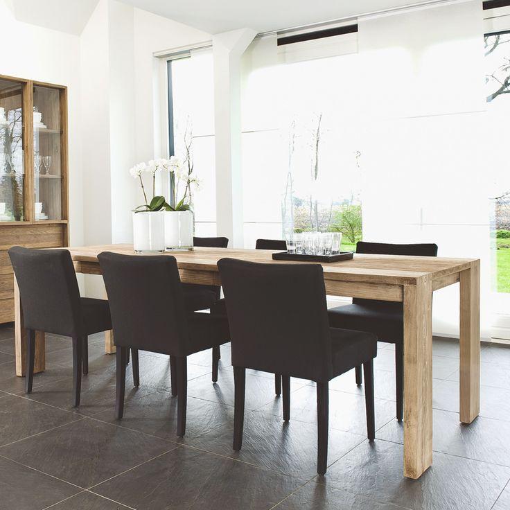 Популярный и универсальный обеденный стол из массива тика. Огромный выбор размеров. Небольшой скрытый ящик.             Метки: Деревянные столы, Кухонный стол, Обеденный стол из массива.              Материал: Дерево.              Бренд: Teak House.              Стили: Скандинавский и минимализм.              Цвета: Коричневый.