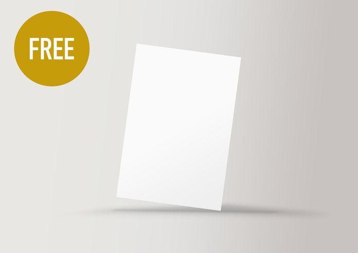 Découvrez ce projet @Behance: «FREE MOCK-UP FLYER MOCKUP» www.behance.n...