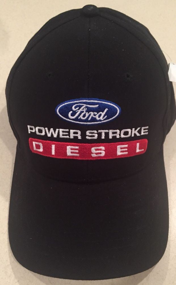 458170b0bf94c Ford Powerstroke Diesel Winter Solid Hat Cap New