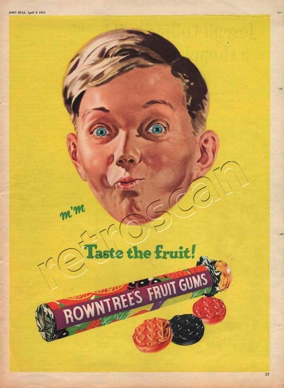 1955 Rowntree's Fruit Gums - The Boy