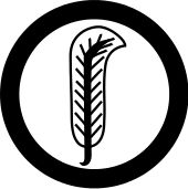 Robert Plant -Derivative of Plant's feather sigil used in the Led Zeppelin IV album