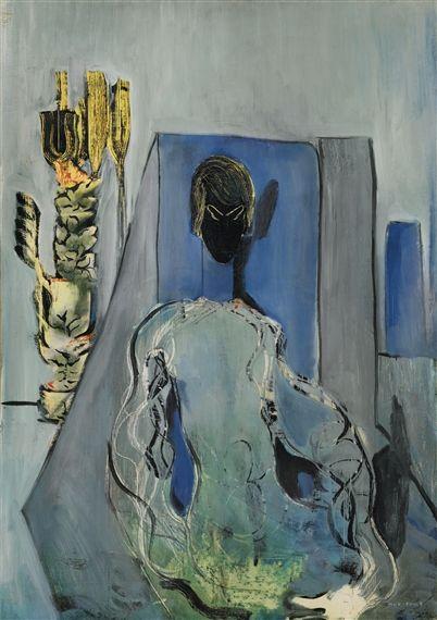 Max Ernst - PORTRAIT DE GALA; Creation Date: 1926; Medium: oil on canvas; Dimensions: 92 X 65 cm.