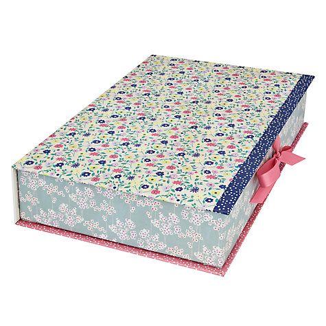 Buy Kirstie Allsopp Vintage Garden A4 Box File Online at johnlewis.com