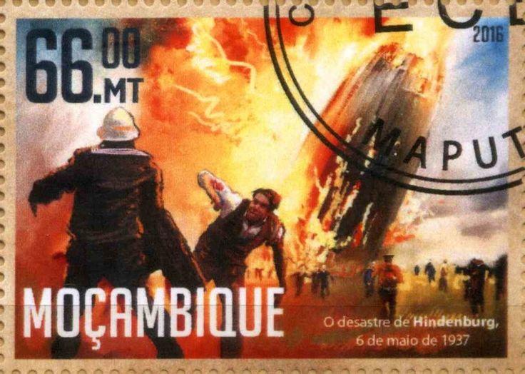 Stamp: LZ129 Hindenburg (Mozambique) Yt:MZ 7005