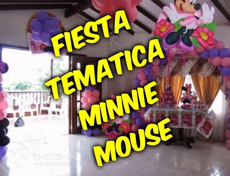 Fiesta tematica  Minnie mouse