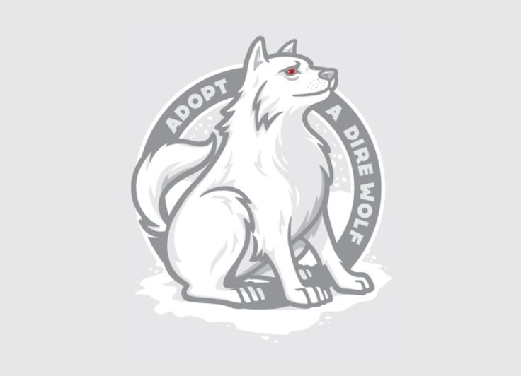 Check out the design Adopt A Dire Wolf by Sean A. Husbands on Threadless