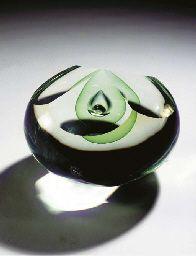 Design A.D. Copier for Crystallex Novy Bor 1987. Executed by Peter Novotny and Jan Frydrich. PN 870557 J.F. A.D. Copier.