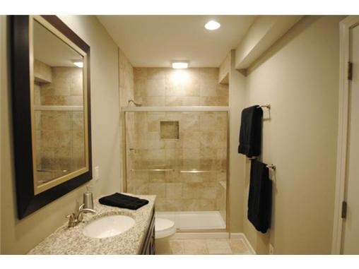 9 best images about basement finish on pinterest steel beams finished basements and ceilings for How to finish a basement bathroom