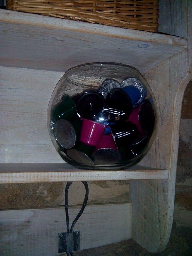 Verrerie à capsules