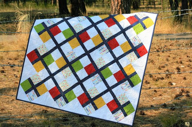 It's August 1st and you know what that means!!! It's time for another Five Fat Quarter Fun pattern! This time, Amanda and I invit...