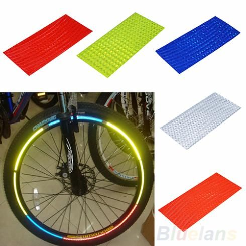 Find More Bicycle Stickers Information about Fluorescent MTB Bike Bicycle Sticker Cycling Wheel Rim Reflective Stickers Decal for Outdoor Sports Accessories,High Quality sticker material,China stickers skoda Suppliers, Cheap stickers mail from 1 piece are welcomed---Lucky Star on Aliexpress.com