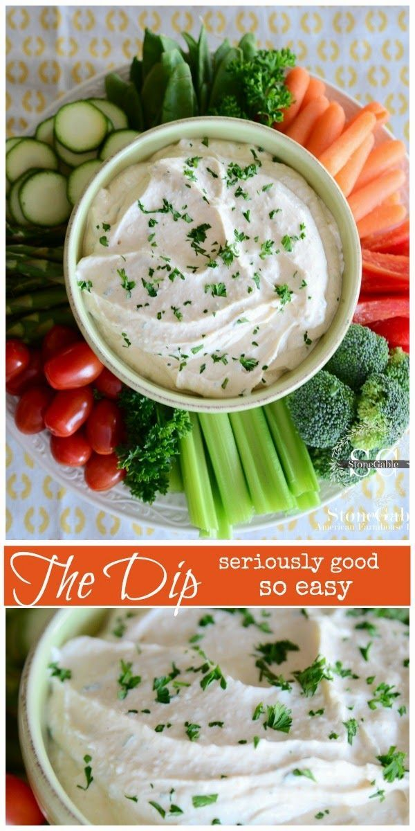 The DIP:  Seriously So Good!