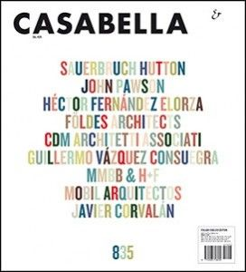 casabella #835. Marzo 2014