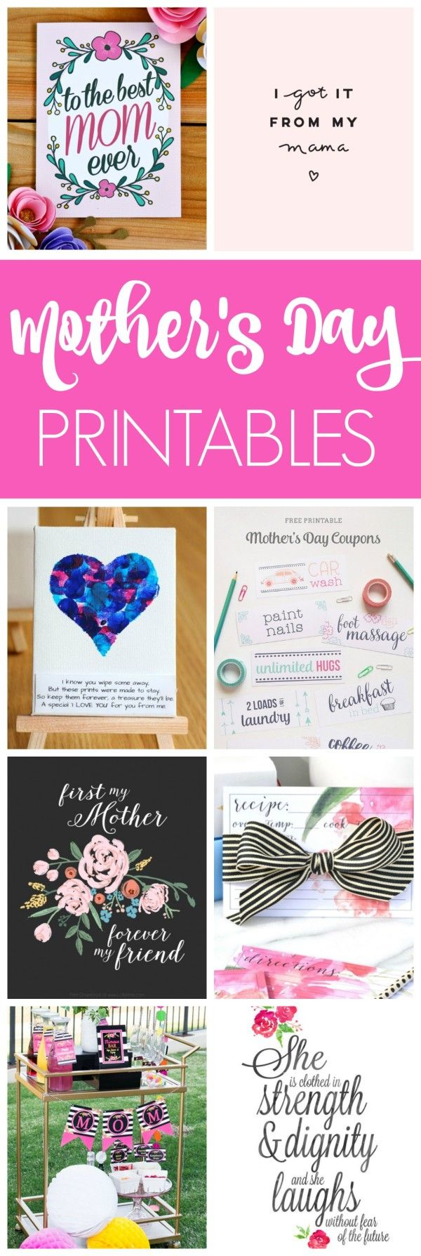 Mothers day coloring online - Free Mother S Day Printables