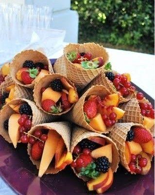 Des idées créatives pour présenter vos fruits et légumes de façon fun. #Fruits #Legumes #Food