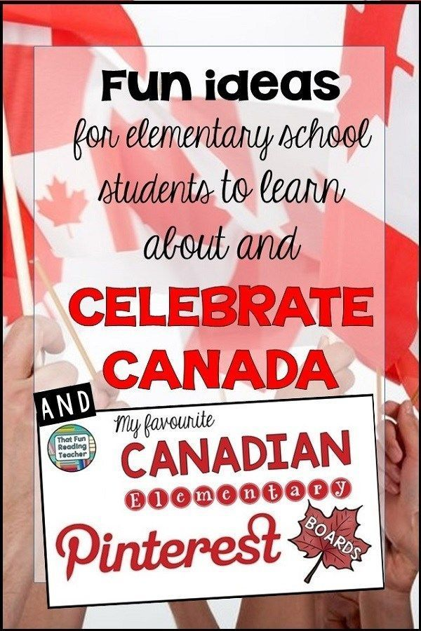 Canada 150 countdown! Check out these fun ideas for elementary students to learn about and celebrate Canada!