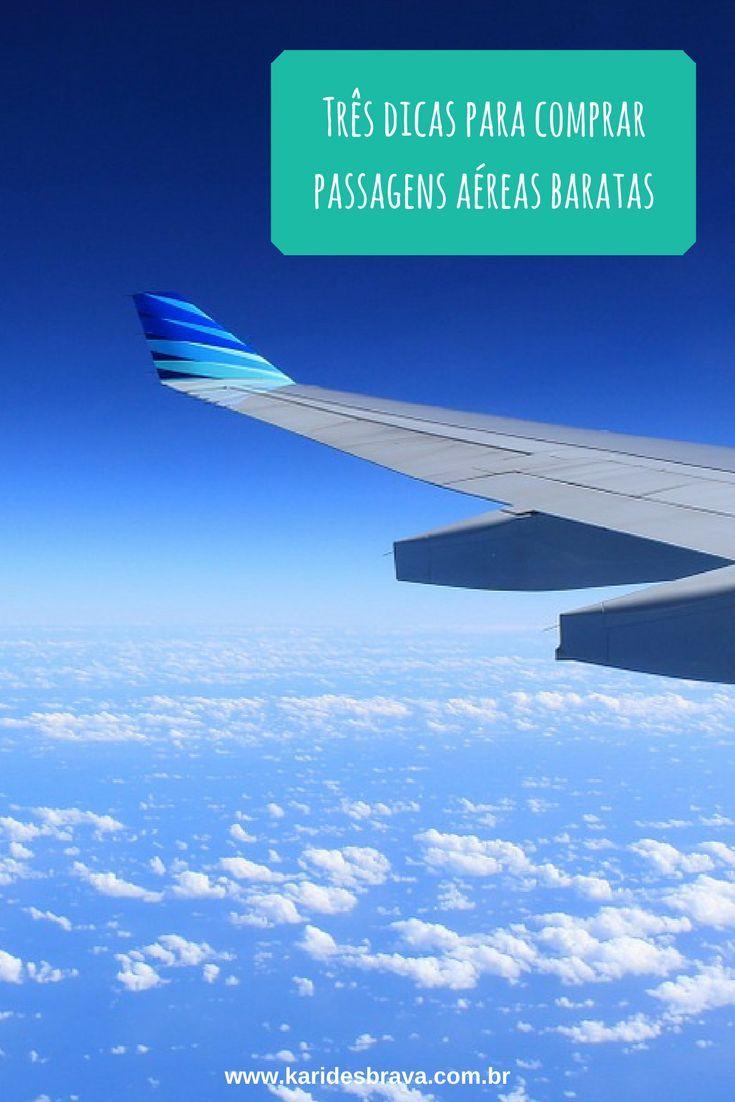 Três dicas para você economizar na compra das passagens aéreas!