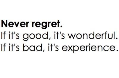 regretThoughts, Life Quotes, Bit, Fave Quotes, Experiments, Regret, Truths Amen, Things, Quotable Quotes
