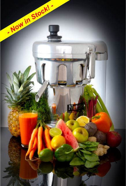 Gerson Therapy/Nutrifaster Inc. - Juice For Life | N450 Info