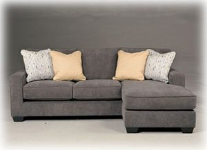 Elegant Apartment Size Sleeper sofa with Chaise