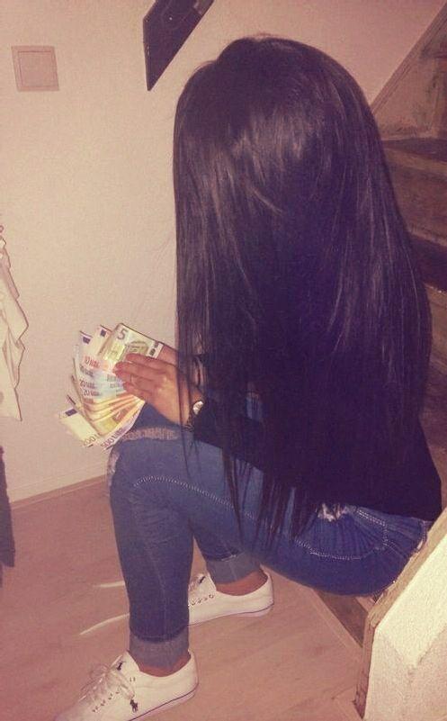 cabello largo y lacio muy bello