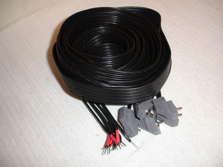 20ft Flat Surround Sound Audio Cable for Satellite Speakers #UnbrandedGeneric