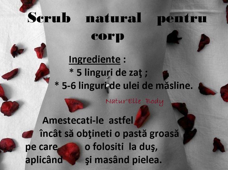 Scrub natural pentru corp