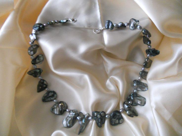 #pearls  #neclace #seashell jewelry